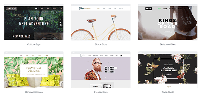 Choose an eCommerce Template