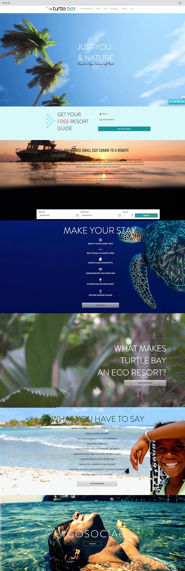 Turtle Bay Eco Resort⎢Cayos Cochinos Hotel Diving_site