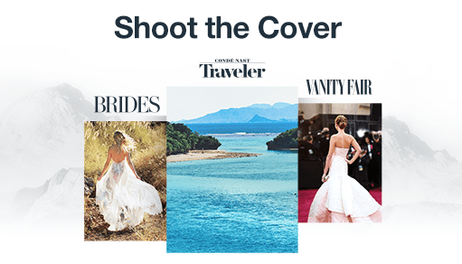 You Could Shoot the Cover of Conde Nast Traveler, Brides Magazine or Assist on a Vanity Fair Shoot!