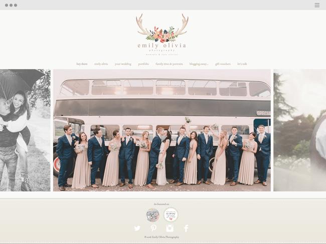 Emily Olivia Photography Wedding Family Photographer UK based site