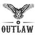 Logo outlaw way white bg