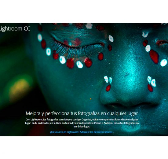 Actualizaci'on Lightroom 2015.6