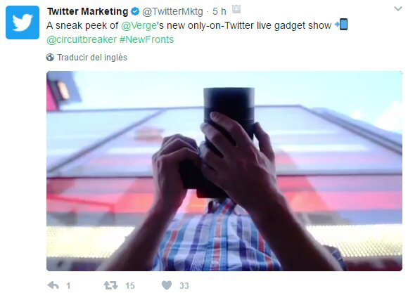 Alianzas Twitter streaming