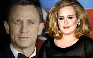 Daniel Craig 007 Adele