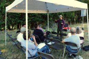 Outdoor class of landowners