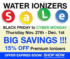 Buy Alkaline Water Ionizers Discount Savings