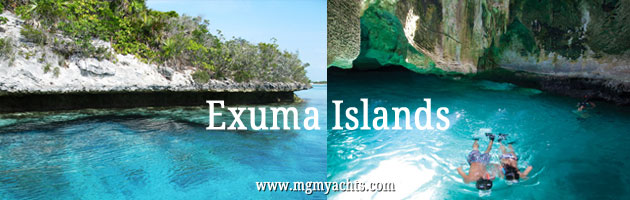 Exuma Islands Yacht Charter Itinerary