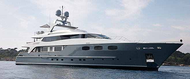 featured mega yacht for charter
