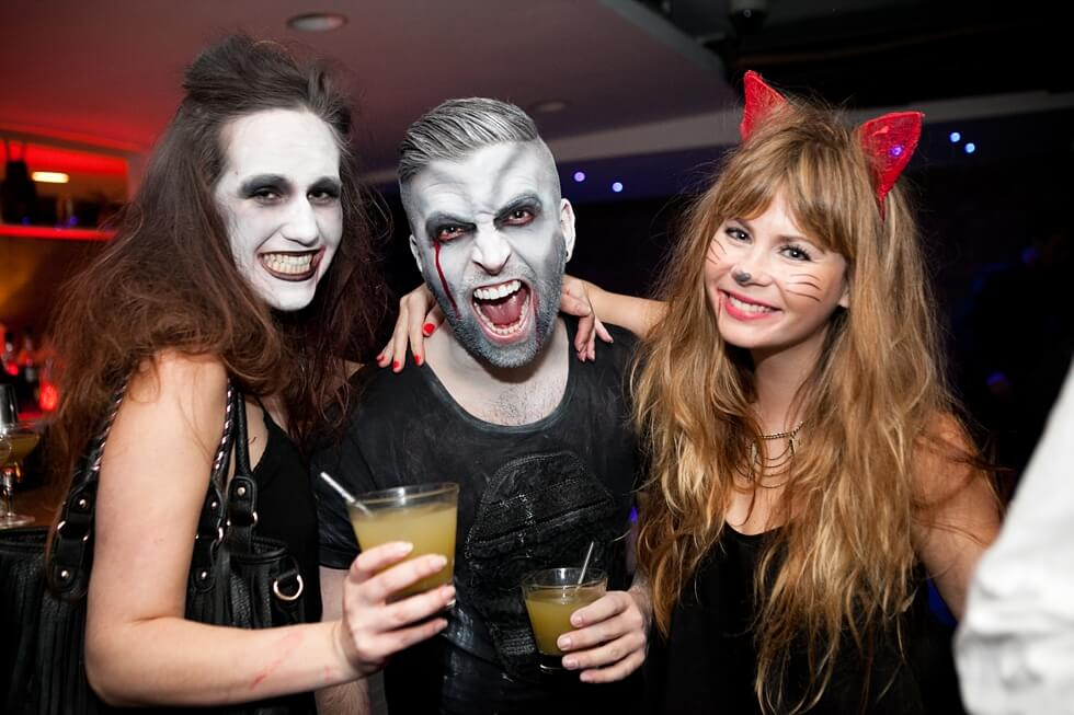 although halloween is more of a childrens holiday there are plenty of festivities for the young adult almost every club bar restaurant and hotel has a