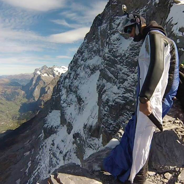 Interview In The Alps Wingsuit Base Jumper Weekend