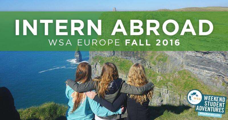 Internship Program Weekend Student Adventures Europe