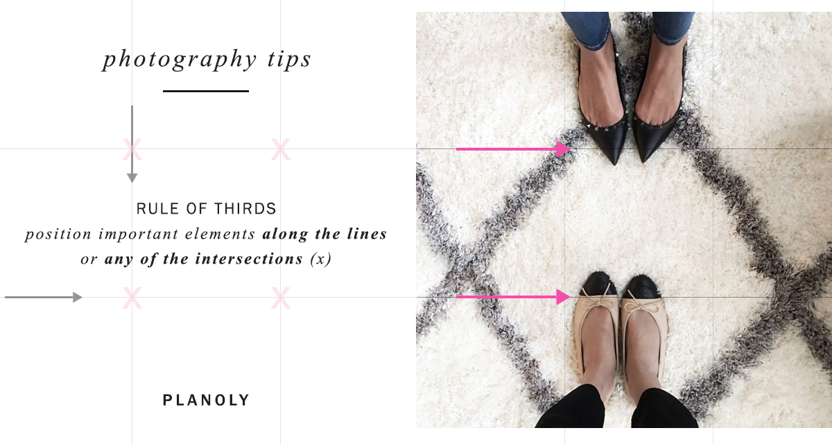 Using photography as a powerful medium rule of thirds planoly