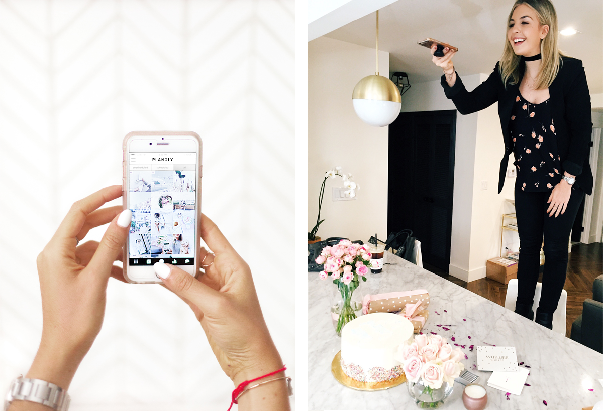 Instagram Advice with Planoly and Calli Something Social 1