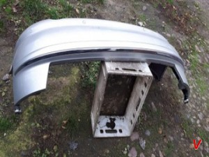 Бампер задний Audi A8D3 HG71990129