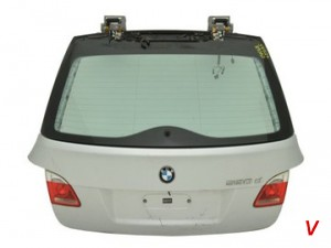 BMW E81 Крышка багажника HC07218167