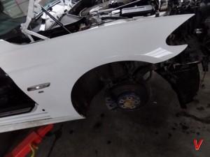 BMW F11 Крыло переднее HG80516816