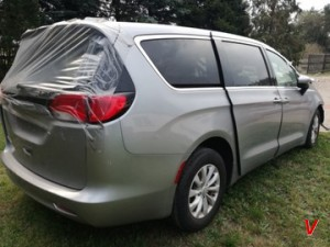 Chrysler Pacifica Бампер задний HG25358946
