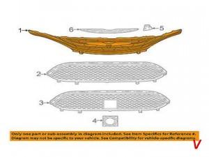 Решетка радиатора Chrysler Pacifica HG21238787