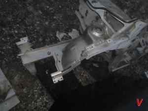 Citroen C4 Четверть передняя HG76791768