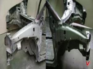 Dodge Caravan Четверть задняя HE95539057