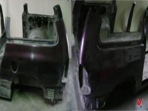 Dodge Caravan Четверть задняя HF39100539