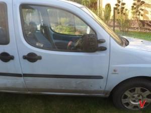 Fiat Doblo Двери передние HG15551874