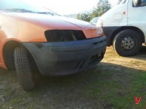 Fiat Punto Бампер передний HG18070666