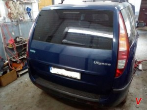 Fiat Ulysse Крышка багажника HG69667664