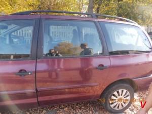 Ford Galaxy Двери задние HG71007509