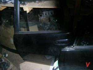 Honda Jazz Двери задние HG75040202