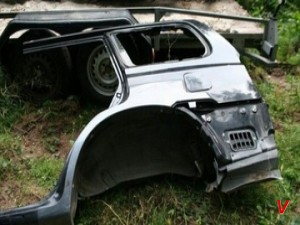 Hyundai Terracan Четверть задняя HE43506925