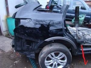 Hyundai Veracruz Четверть задняя FB24405141