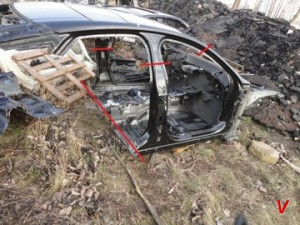 Jaguar XJ Четверть задняя GC31616558