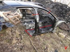 Jaguar XJ Четверть задняя GC31642747