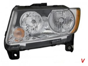 Jeep Compass Фара HG66014675