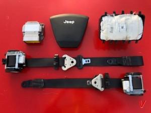 Jeep Patriot Подушка руля HG53612899