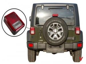 Jeep Wrangler Фонари задние HD28676579