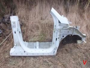 Kia Sportage Четверть передняя HG76059162