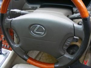 Lexus LS Подушка руля HF98861845
