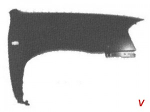 Mazda Tribute Крыло переднее HG66302329