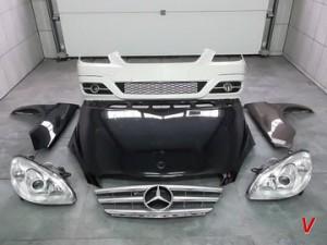 Mercedes B Четверть задняя HC40151213