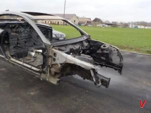 Mercedes CL Четверть передняя HG73446613