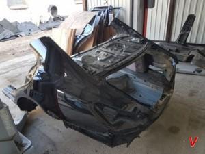 Mercedes CLS Четверть задняя GH27560934