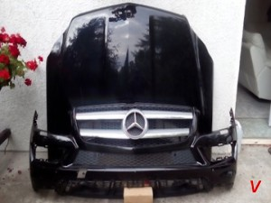 Mercedes GL Капот HG65267832