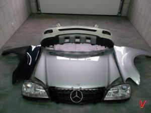 Mercedes M Четверть задняя HG60741774