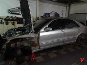 Mercedes S Четверть задняя HD92592184