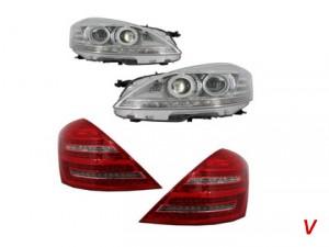 Mercedes S Фонари задние HB28986151