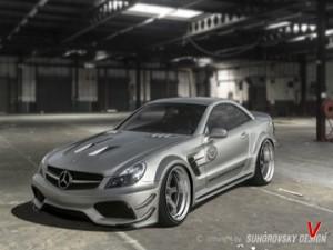 Mercedes SL Четверть задняя HF01107602