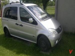 Mercedes Vaneo Четверть задняя FB28949728