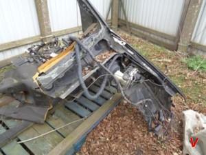 Nissan Pathfinder Четверть задняя FA50096326